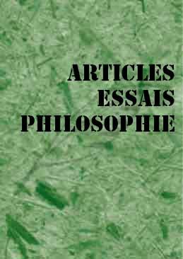 Articles et Essais