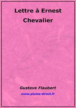 Lettre à Ernest Chevalier
