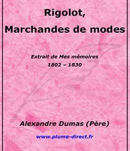 Mesdemoiselles Rigolot, Marchande de modes