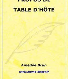 Propos de table d'hôte